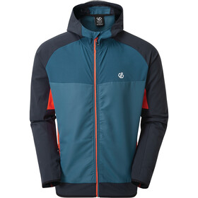Dare 2b Aptile Veste Softshell Homme, majolica blue/outspace blue/trail blaze